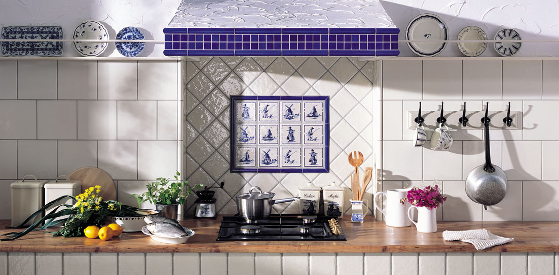 Tubądzin – Majolika – kuchnia
