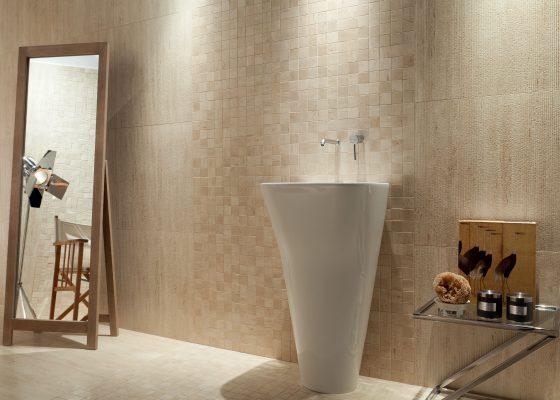 Tubądzin – Travertine – łazienka
