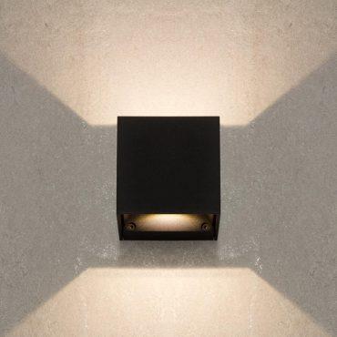 lampa led czarna