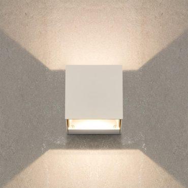 biała lampa led
