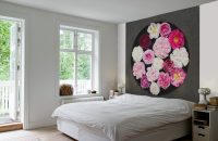 Ściana za łóżkiem w sypialni – inspiracje.