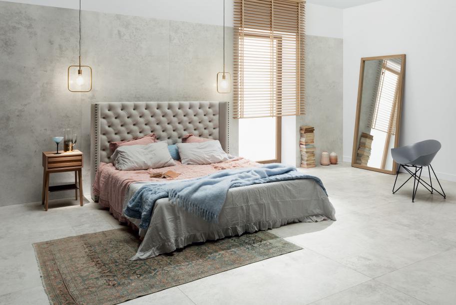 ściana Za łóżkiem W Sypialni Inspiracje Grupamopl