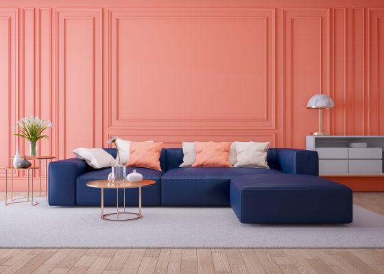 Modne kolory we wnętrzach w 2019 roku – trendy kolorystyczne