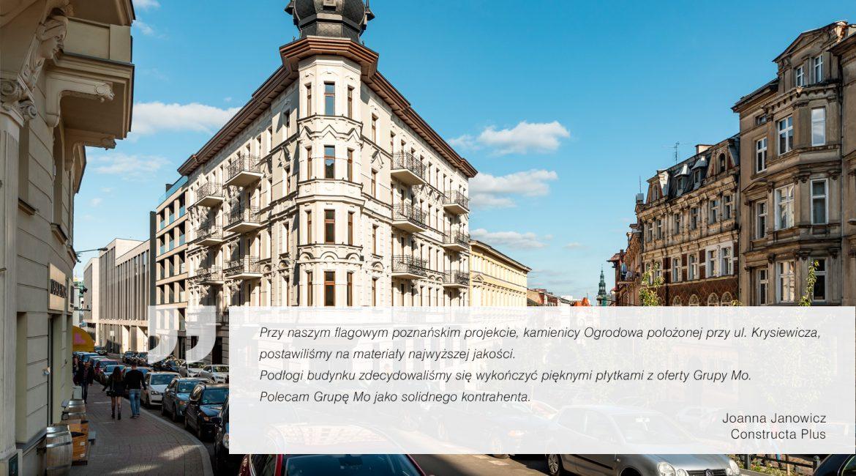 Kamienica Ogrodowa, Poznań