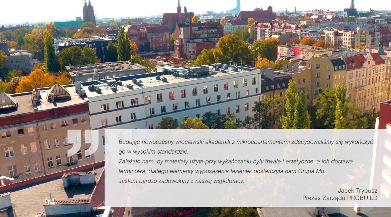 Prywatny Akademik LAS, Wrocław