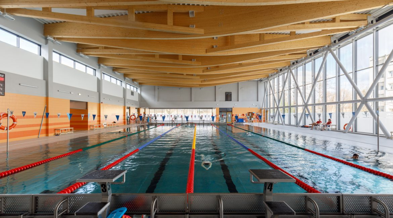POSiR swimming pool - Poznań, os. Piastowskie